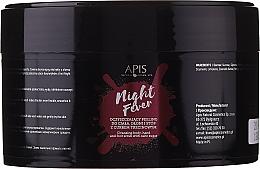 Düfte, Parfümerie und Kosmetik Peeling für Körper, Hände und Füße mit Rohrzucker - Apis Professional Night Fever Peelling For Body, Hand And Foot