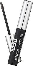 Düfte, Parfümerie und Kosmetik Augenbrauenfixiergel - Pupa Transparent Eyebrow Fixing Gel