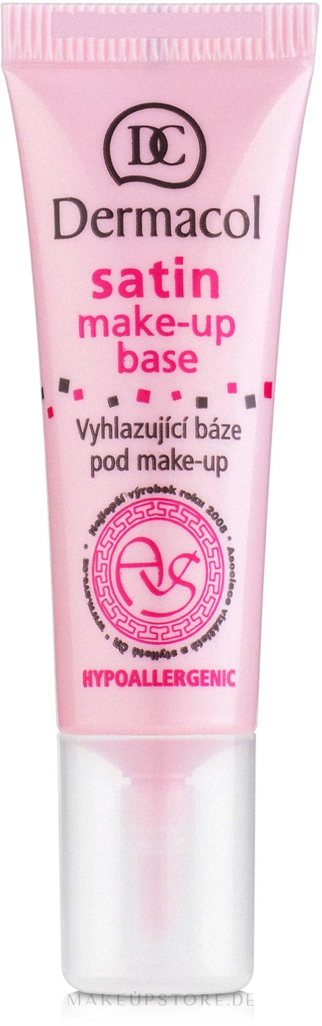Hypoallergene Make-up Base - Dermacol Satin Base Make-Up — Bild 10 ml