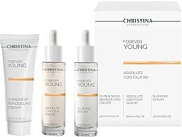 Düfte, Parfümerie und Kosmetik Gesichtspflegeset - Christina Forever Young (Gesichtsserum 30ml + Gesichtsserum 30ml + Gesichtscreme 50ml)