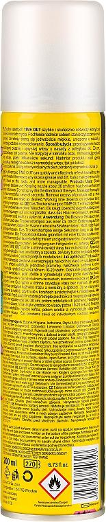 Trockenshampoo Tropical - Time Out Dry Shampoo Tropical — Bild N4