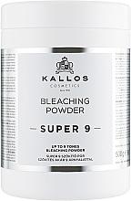 Düfte, Parfümerie und Kosmetik Aufhellender Haarpuder - Kallos Cosmetics Up To 9 Tones Bleaching Powder