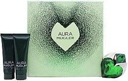 Düfte, Parfümerie und Kosmetik Mugler Aura Mugler - Duftset (Eau de Parfum/30ml + Körperlotion/50ml + Duschgel/50ml)