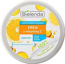 Düfte, Parfümerie und Kosmetik Pflegecreme für Gesicht und Körper mit Vitamin C - Bielenda Universal Cream Vitamin C
