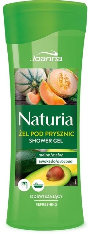 "Duschgel ""Melone & Avocado"" - Joanna Naturia Melon and Avocado Shower Gel — Bild N1"