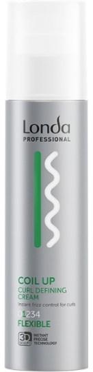 Lockendefinierende Haarcreme Flexibler Halt - Londa Professional Coil Up Curl Defining Cream — Bild N1