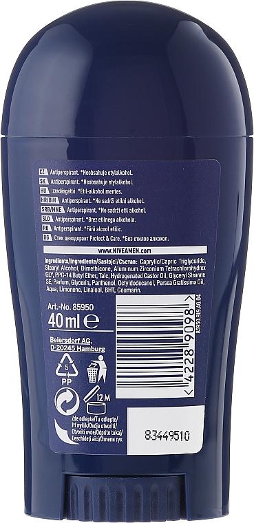 Deostick Antitranspirant - Nivea For Men Protect & Care Deodorant Stick — Bild N2