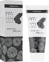 Düfte, Parfümerie und Kosmetik Reinigungsschaum mit Aktivkohle - FarmStay Charcoal Pure Cleansing Foam