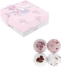 Düfte, Parfümerie und Kosmetik Badebombe 4 St. - Chantilly Soft Rose