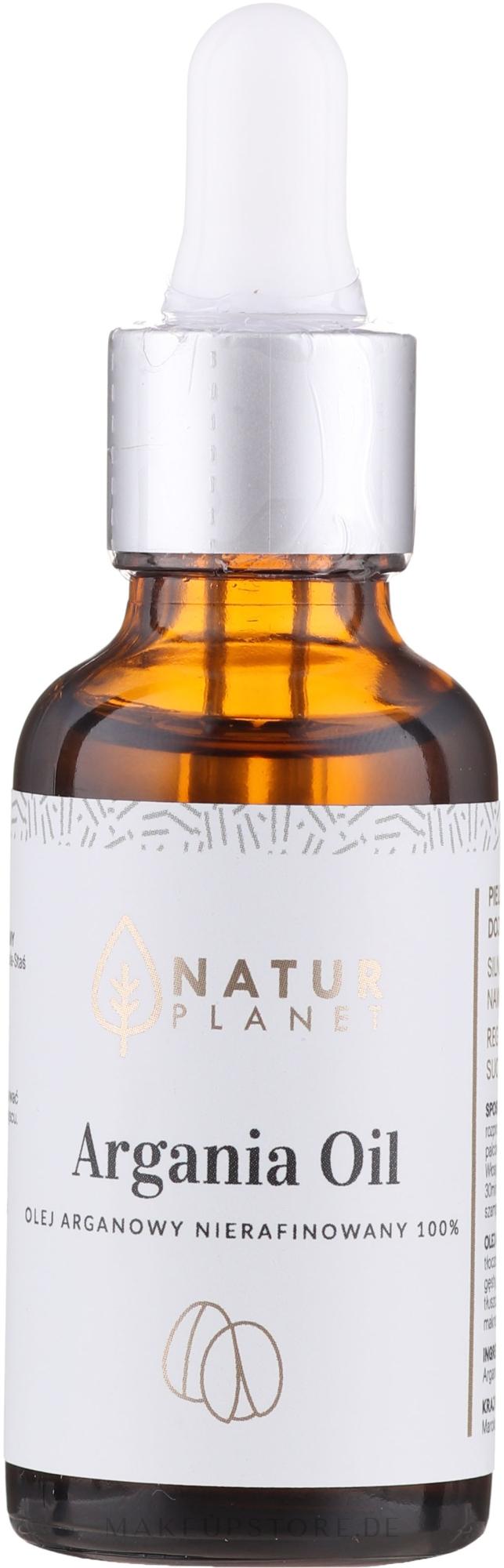 100% Unraffiniertes Arganöl - Natur Planet Argan Oil 100% — Bild 30 ml