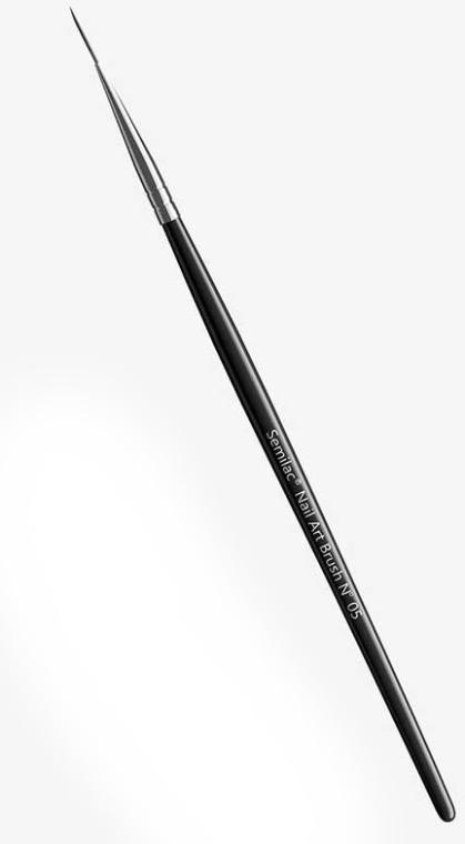 Nageldesign Pinsel N 05 - Semilac Nail Art Brush N05 — Bild N1