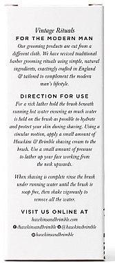 Rasierpinsel mit Synthetikhaar - Hawkins & Brimble Synthetic Shaving Brush — Bild N2