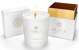 Düfte, Parfümerie und Kosmetik Duftkerze Inner Strength - Herla Natural Inner Strength Scented Candle
