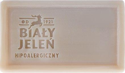 Dermatologische Seife mit grünem Lehm - Bialy Jelen Apteka Alergika Soap — Bild N2