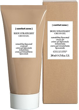 Modellierendes liposomales Creme-Gel für ödematöse Cellulite und empfindliche Haut - Comfort Zone Body Strategist Cream Gel — Bild N1