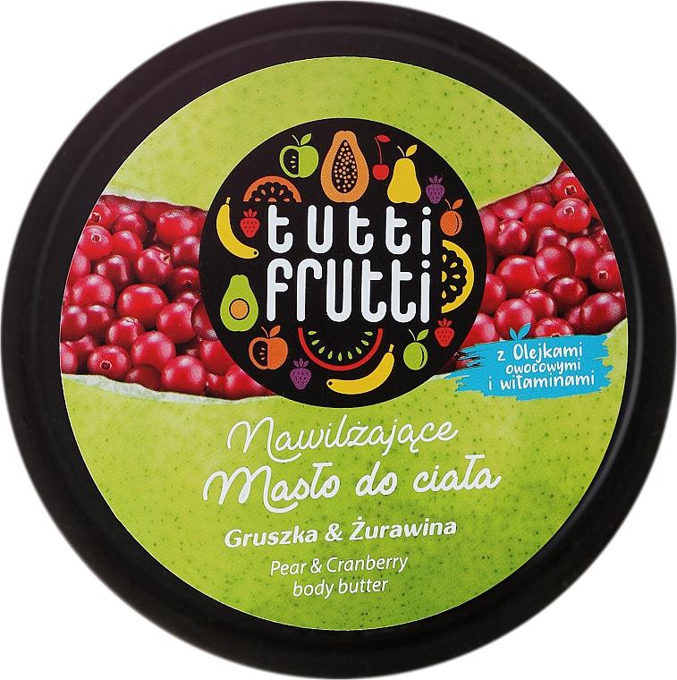 Feuchtigkeitsspendende Körperbutter mit Birne und Preiselbeere - Farmona Tutti Frutti Pear Body Butter — Bild N1