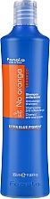 Düfte, Parfümerie und Kosmetik Farbneutralisierendes Shampoo für dunkel gefärbtes Haar - Fanola No Orange Extra Blue Pigment Shampoo