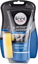 Düfte, Parfümerie und Kosmetik Enthaarungscreme für empfindliche Haut - Veet Men Silk & Fresh Hair Removal Cream