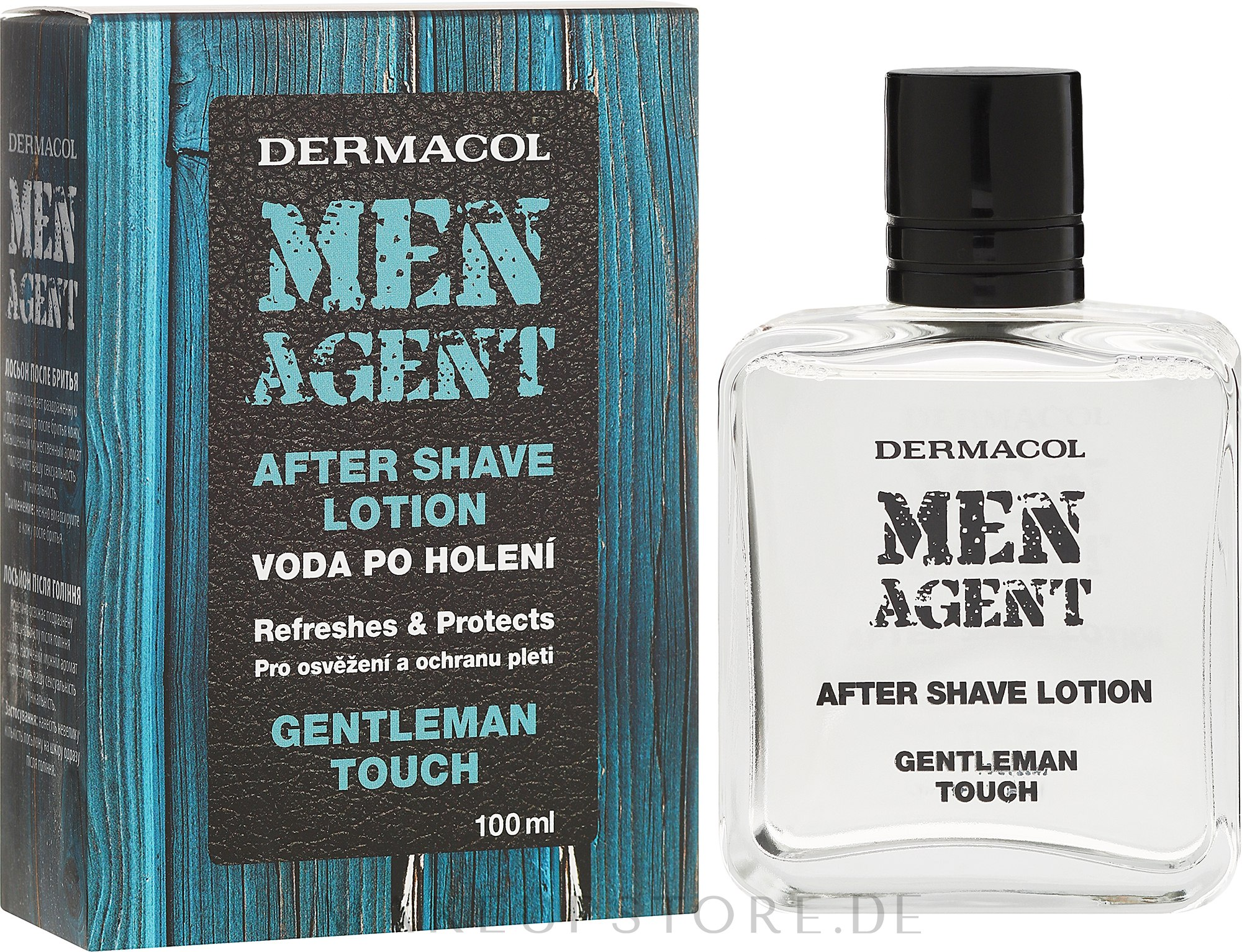 After Shave Lotion - Dermacol Men Agent After Shave Lotion Gentleman Touch — Bild 100 ml
