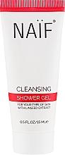 Düfte, Parfümerie und Kosmetik Duschgel mit feuchtigkeitsspendendem Leinöl - Naif Cleansing Shower Gel (Mini)