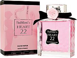 Düfte, Parfümerie und Kosmetik Sublim's Heart 22 - Eau de Parfum