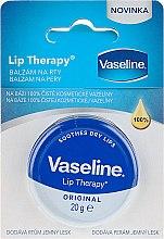 Düfte, Parfümerie und Kosmetik Beruhigender Balsam für trockene Lippen - Vaseline Lip Therapy Original Lips Balm