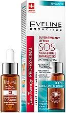 Düfte, Parfümerie und Kosmetik Aktives Gesichtsserum gegen tiefe Falten mit Hyaluronsäure - Eveline Cosmetics Face Therapy Professional