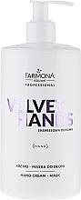 Düfte, Parfümerie und Kosmetik Creme-Maske für die Hände mit Harnstoff und Vitamin E - Farmona Velvet Hands Cream-Mask