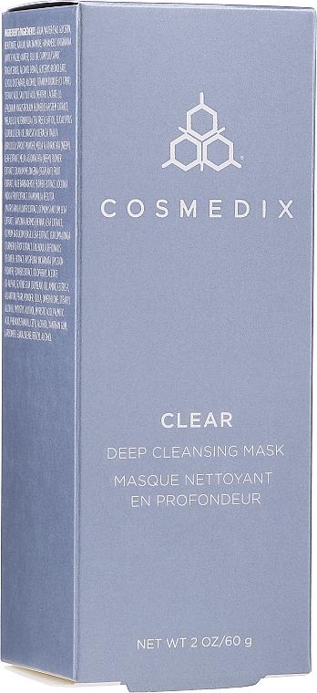 Tiefenreinigende Gesichtsmaske - Cosmedix Clear Deep Cleansing Mask — Bild N2