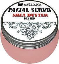 Düfte, Parfümerie und Kosmetik Gesichtspeeling für trockene Haut mit Sheabutter - Fergio Bellaro Facial Scrub Shea Butter