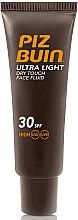 Düfte, Parfümerie und Kosmetik Fechtigkeitsspendende Make-up Base - Piz Buin Ultra Light Dry Touch SPF30