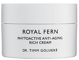 Düfte, Parfümerie und Kosmetik Luxuriöse feuchtigkeitsspendende und revitalisierende Anti-Aging Gesichtscreme mit Pflanzenextrakten und Antioxidantien - Royal Fern Phytoactive Anti-Aging Cream