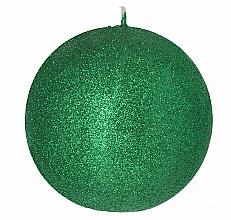 Düfte, Parfümerie und Kosmetik Dekorative Kerze in Kugelform grün 8 cm - Artman Glamour