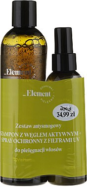 Haarpflegeset - Vis Plantis Element (Shampoo 300ml + Haarspray 150ml) — Bild N1