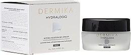 Düfte, Parfümerie und Kosmetik Pflegende Nachtcreme - Dermika Hydralogio Hydra Nourishing Face Cream 30+