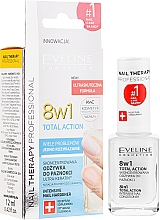 Düfte, Parfümerie und Kosmetik 8in1 Stärkende Nagelkur - Eveline Cosmetics Nail Therapy Total Action 8 in 1