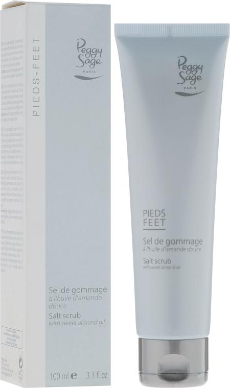 Salzpeeling für Füße mit Mandelöl - Peggy Sage Salt Scrub — Bild N1