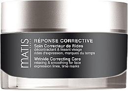 Düfte, Parfümerie und Kosmetik Glättende Anti-Falten Gesichtscreme - Matis Reponse Corrective Wrinkle Correcting Care