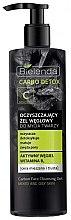 Düfte, Parfümerie und Kosmetik Detox Gesichtsreinigungsgel mit Aktivkohle und Vitamin B für fettige und Mischhaut - Bielenda Carbo Detox Gel