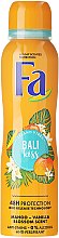 Düfte, Parfümerie und Kosmetik Deospray Antitranspirant - Fa Bali Kiss Deodorant