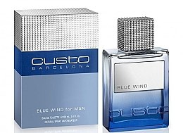 Düfte, Parfümerie und Kosmetik Custo Barcelona Blue Wind - Eau de Toilette