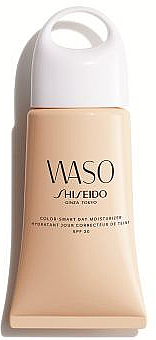 Feuchtigkeitsspendende getönte Tagescreme mit LSF 30 - Shiseido Waso Color-Smart Day Moisturizer SPF30 — Bild N1