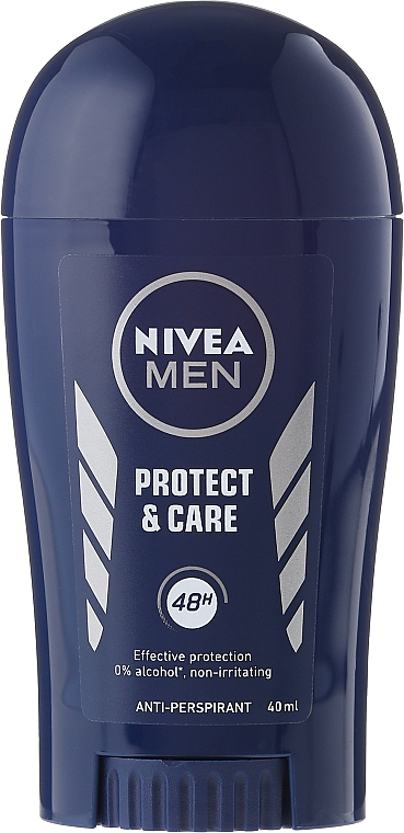 Deostick Antitranspirant - Nivea For Men Protect & Care Deodorant Stick — Bild N1
