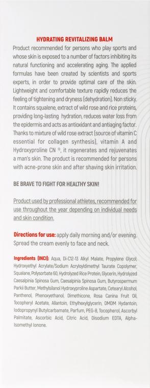 Revitalisierender und feuchtigkeitsspendender Gesichtsbalsam für Männer - BeBrave Hydrating Revitalizing Balm-For Men — Bild N3