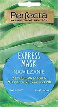 Düfte, Parfümerie und Kosmetik Intensiv feuchtigkeitsspendende Gesichtsmaske mit Aloe Vera - Perfecta Express Mask