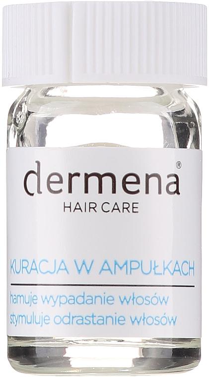 Ampullen gegen Haarausfall für Frauen - Dermena Hair Care Ampoules Against Hair Loss — Bild N3