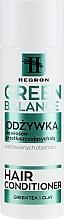 Düfte, Parfümerie und Kosmetik Haarspülung für fettiges Haar ohne Volumen - Hegron Green Balance Hair Conditioner