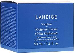 Düfte, Parfümerie und Kosmetik Feuchtigkeitsspendende Gesichtscreme für normale und trockene Haut - Laneige Water Bank Moisture Cream