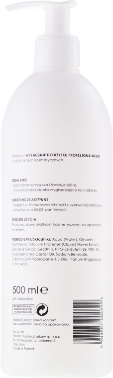 Erfrischendes Anti-Falten Gesichtstonikum - Ziaja Pro Refreshing Tonic — Bild N2