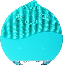Düfte, Parfümerie und Kosmetik Gesichtsreinigungsbürste BR-030 blau - Lewer Facial Cleansing Brush Blue
